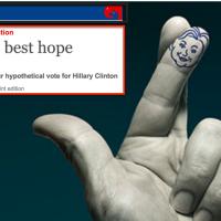 "#Hillary Clinton, ""America's best hope"": Quand The Economist croise les doigts..."