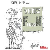 """F.#Fillon, l'îlot #FN: """"Faire barrage"""" ou ne pas Être? Réflexion à 2 € ..."""