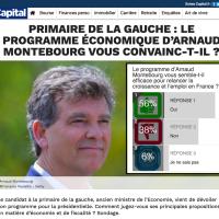 """Le """"programme de Montebourg"""" jugé efficace pour la #croissance et l'#emploi en France …"""
