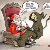 Le Père #Noël est trop généreux (avec Mr RIP)...