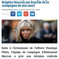 Après François, #PénélopeMacron? Il a viré Brigitte (de) sa campagne, pourquoi? ...