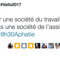 """Discours de #Gauche: Solidarité (#Montebourg) ou """"Assistanat"""" (Valls)? ..."""