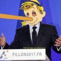"""La réponse des Français à #Fillon: """"Mouillé c'est mouillé, Y a pas de mouillé-sec""""..."""