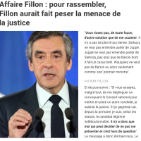 Menace, #Fillon aux cadres #républicains: «Si je suis viré, j'vous traîne en justice!»