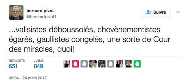 Tweet de Pivot Macron Vallsistes