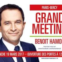 #Météo (politique): Grand beau temps sur Paris #Bercy ce dimanche, #Hamon2017...