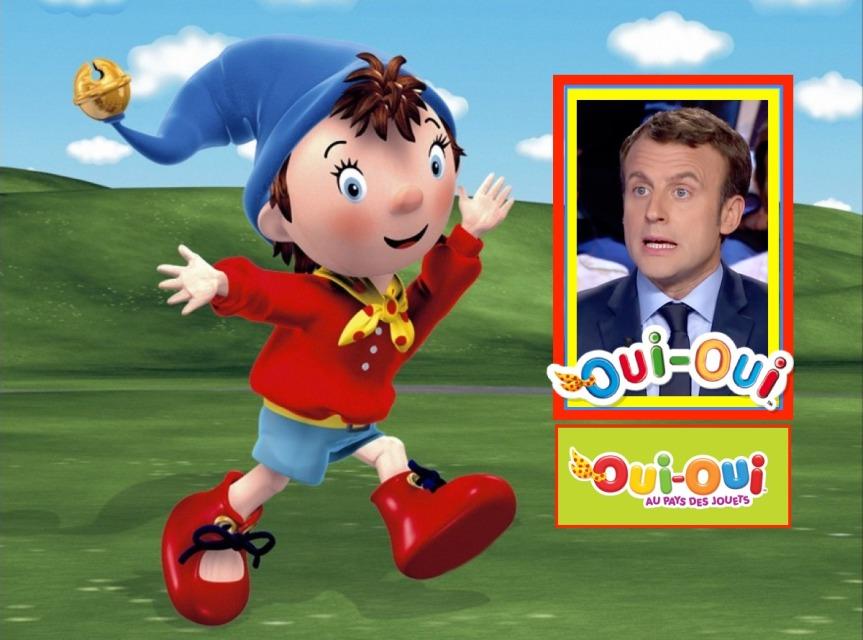 Macron Candidat Oui-Oui