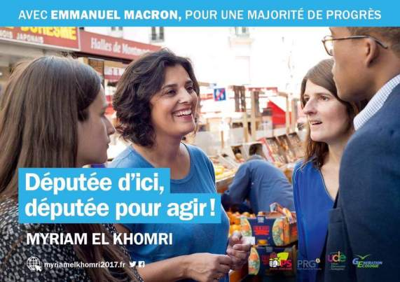 Myriam ElKomri Législatives Paris