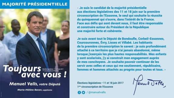 Manuel Valls Législatives
