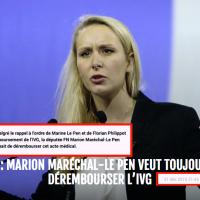 """""""L'IVG"""" de Marion Maréchal #LePen ..."""