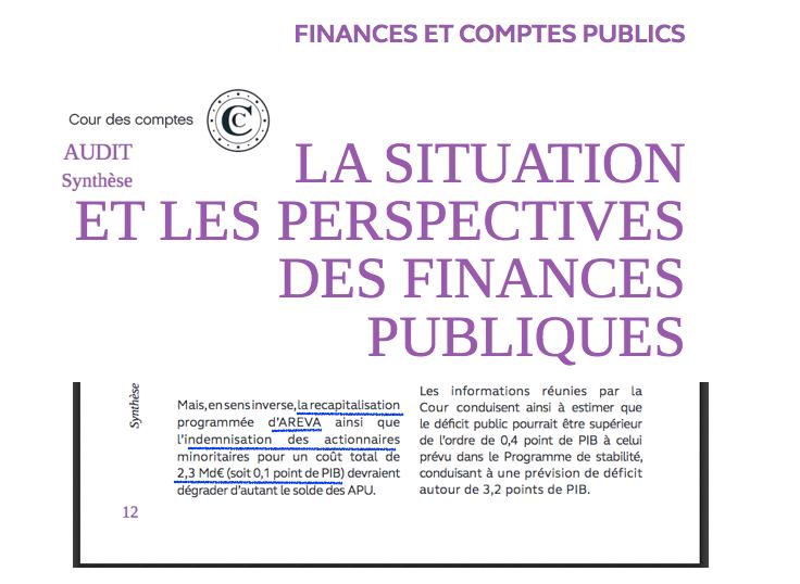 Audit Cour des comptes Macron Bilan