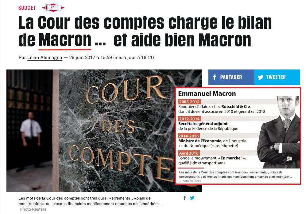 MAcron Cour des comptes
