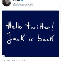 """E.#Macron ou le """"retour de #DSK"""". Jupiter is #Jack, l'équipe #EnMarche..."""