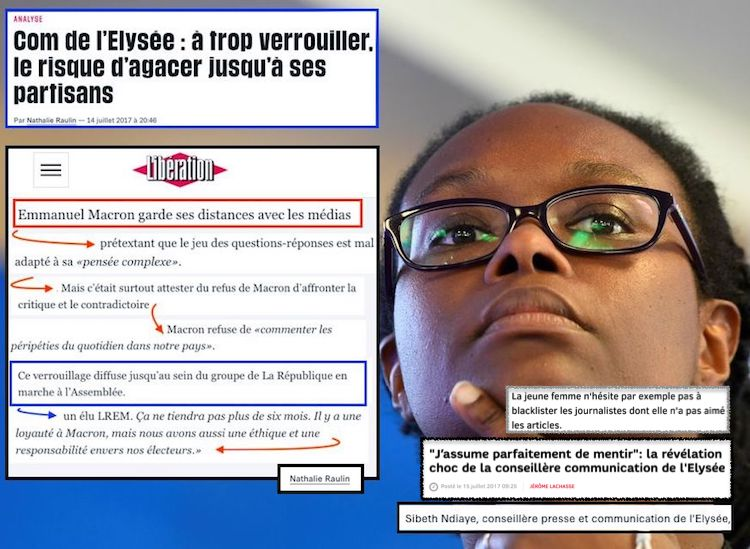 Sibeth Ndiaye Com Elysée