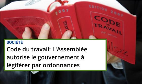 TRump Macron Paris Tour Eiffeil %Menu Code du travail 14 juillet