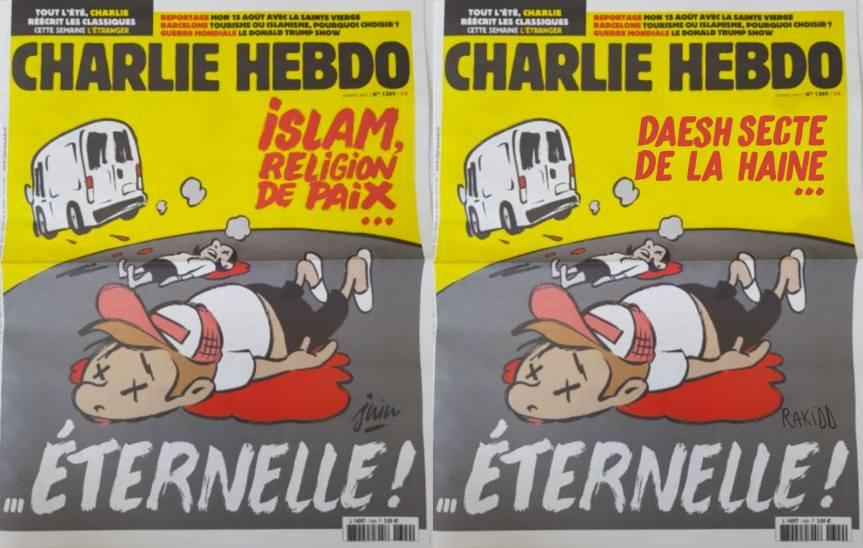 UNE #CharlieHebdo Islam, rélidion de paix éternelle