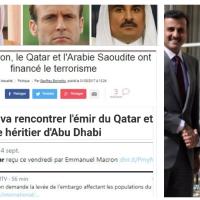 """De la """"complaisance #Macron"""" sur le financement du #terrorisme. Des questions ..."""