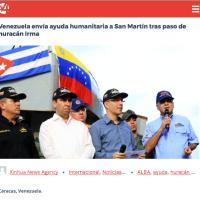 Macron humilié à SaintMartin: Il débarque après «l'aide Maduro du Venezuela» déjà sur place..