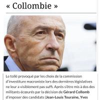 La nouvelle #Collombie (politique), une macronnerie organisée de l'Intérieur, à #Lyon ...