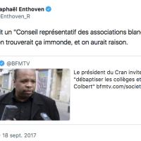 S'il y avait un «Conseil représentatif des institutions Juives de France» (le CRIF), @Enthoven_R trouverait ça immonde, et il aurait tort.
