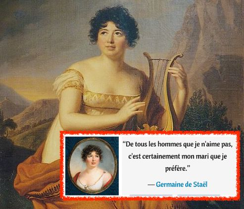Les Extimités de Madame de Staël