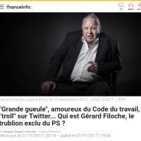 Bref, le PS s'est exclu de Gérard Filoche ...