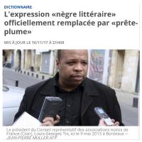 Le « nègre-littéraire » is dead, vive le «prête-plume» !