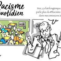 """""""Le #racisme au quotidien"""", le @Plantu revisité, dessin """"ça fait longtemps que ...""""..."""