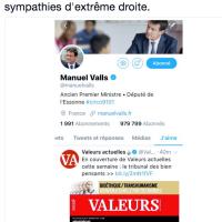 Les @Valeurs Actuelles de Manuel Valls...