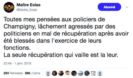 Tweet Maitre Eolas Champigny