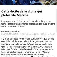 Cette extrême-droite qui plébiscite Emmanuel #Macron ...