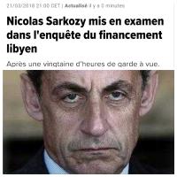 """""""Qui imagine le général de Gaulle mis en examen?""""... #Sarkozy"""