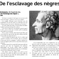 """#Montesquieu: """"De l'#esclavage des nègres"""". #170ansAbolitionEsclavage"""