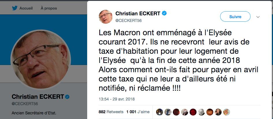 Macron Taxe d'habitation FakeNews