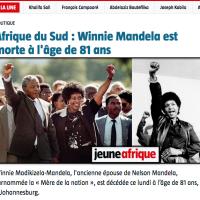 RIP Mama #WinnieMandela, to léla ...