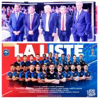 Politique & Foot: Mesdames & Messieurs, voici les #bleus! La very complète #ListeDes23+...