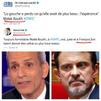 «La #Gauche a perdu ce qu'elle avait de plus pénible: #MalekBoutih & M.#Valls», tant mieux!