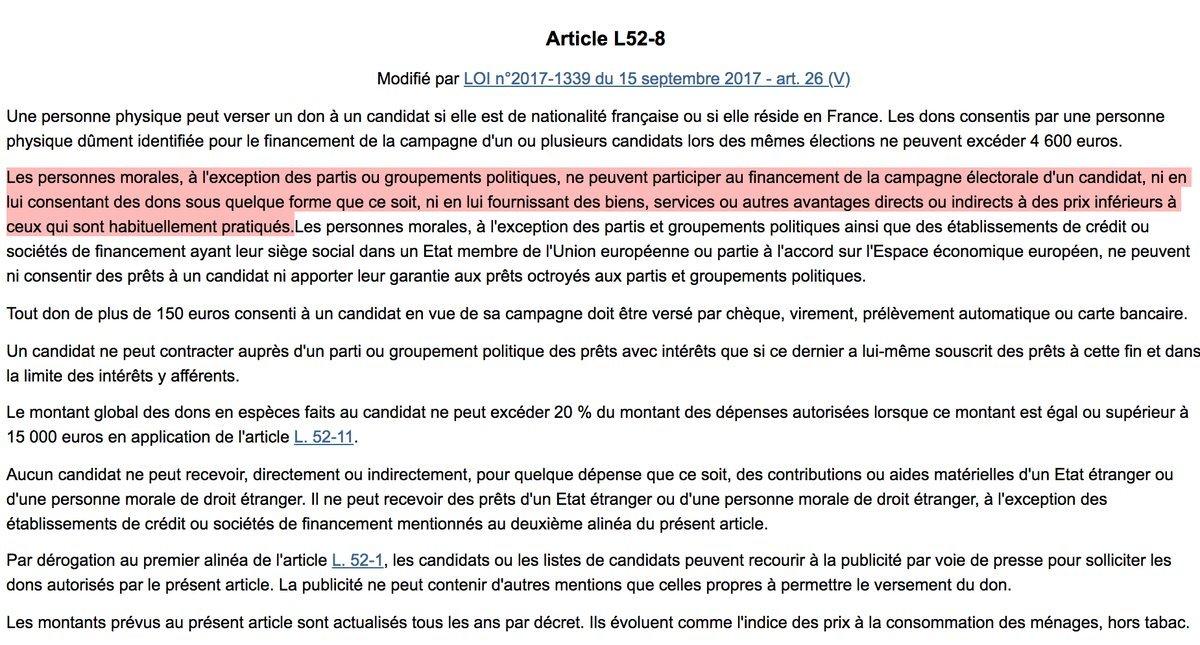 Affaire GLEvents Macron ristourne