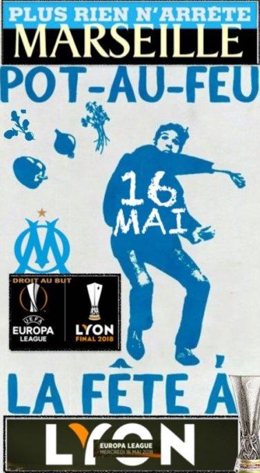 Fête à ron Marseille en finale à Gerland Places