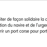 """#Migrants: """"Les fachos italiens décident, la France exécute"""" Silence radeau #Aquarius"""