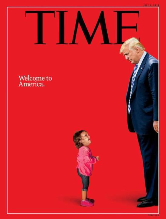 "@TIME Cover |Welcome, ""This is America"""