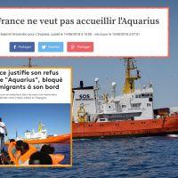 """Tiens, #EmmanuelMacron veut sanctionner la #France pour """"#refus d'accueil des #Migrants"""""""