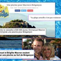 Walibi (Présidentiel): «La Piscine à vagues» des Macron à Brégançon, caprice à deux, caprice ...