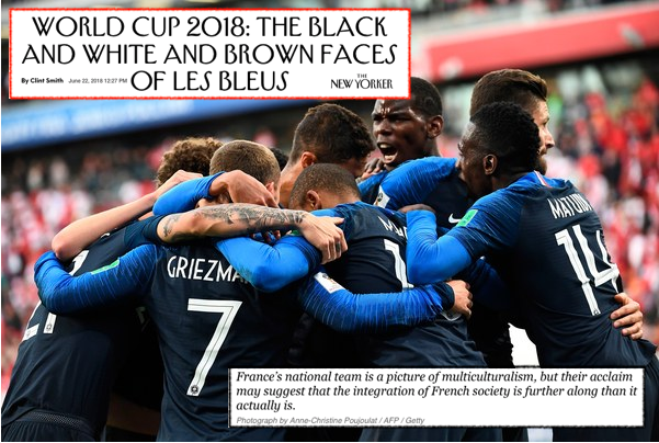 World Cup 2018: The Black and White and Brown Faces of Les Bleus