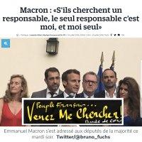 """Msg des Français à EmmanuelMacron: """"Hé Manu! Tkt #OnVaVenirTeChercher !""""..."""