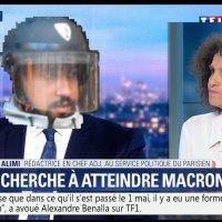 """""""J'ai pas tapé, je suis  Boulanger-pâtissier!"""" #AlexandreBenalla au #JT20H de @TF1.."""