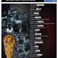 """""""Marseillaise"""" pour les «Enfants de #Banlieue» en finale de la Coupe du Monde… #FRACRO"""