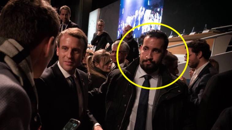 Macron et Alexandre Benalla