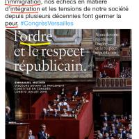 Au théâtre de Versailles, le «Monologue du Roi», soliloque de Macron|«Foutage de gueule Prod.»