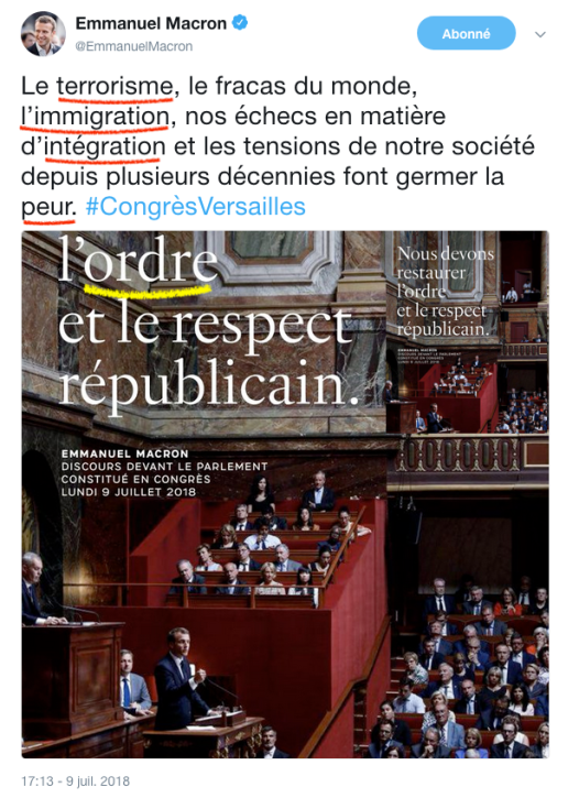 Macron Versailles